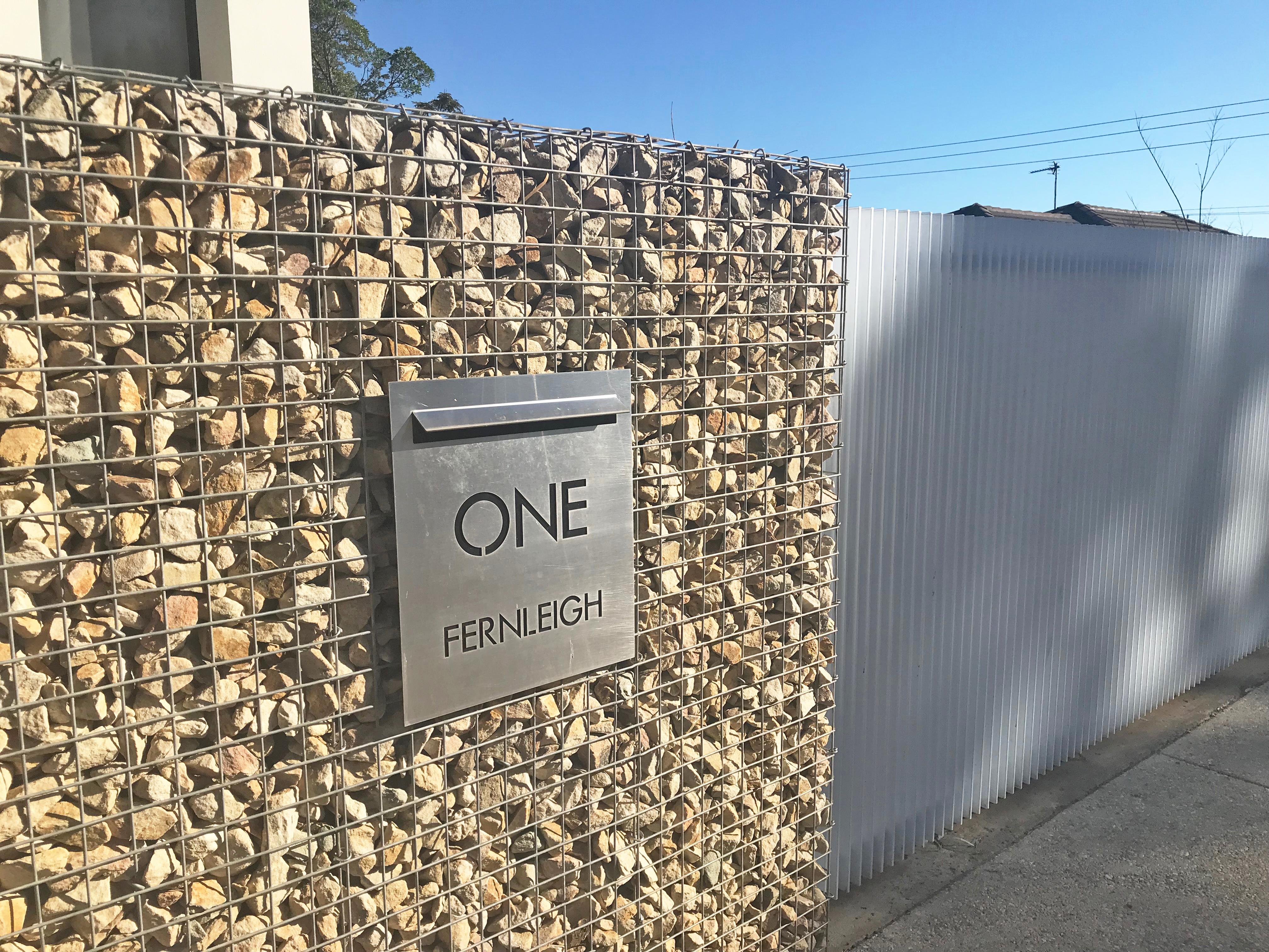 Fernleigh Ave Rockweld Gabion Fence