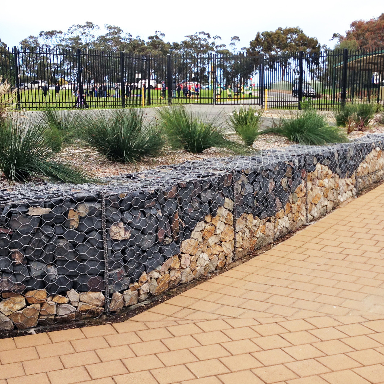 Flagstaff Hill Primary Gabion Wall