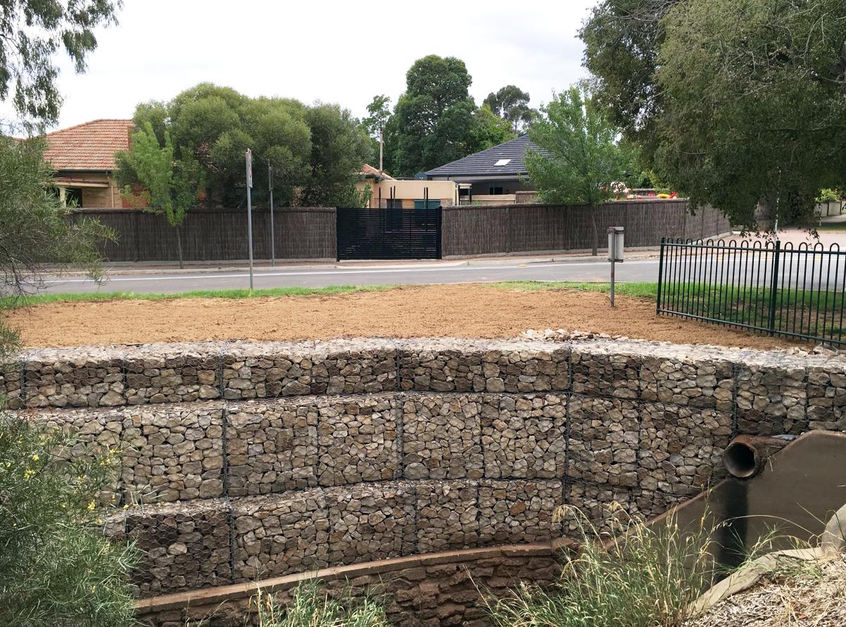 Myrtle Bank Creek Upgrade