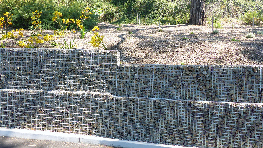 Rockweld Gabion retaining walls - Kalyra Heights