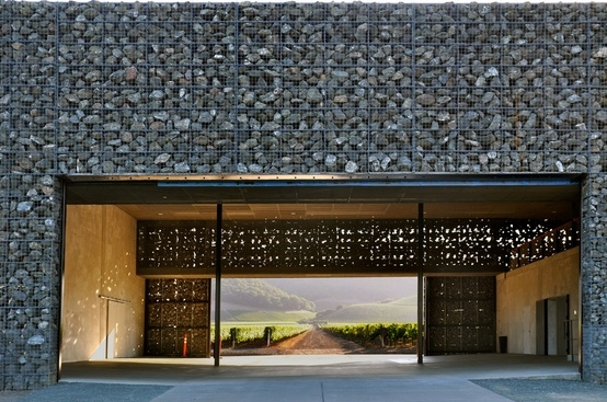 Dominus Estate Winery, Napa Valley by Herzog & De Meuron