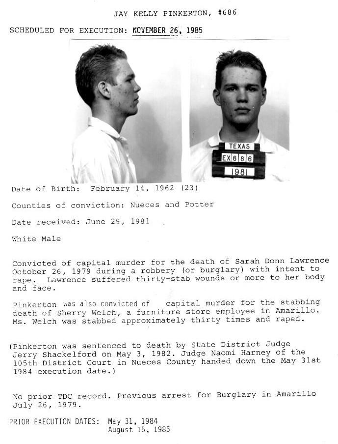 Jay Pinkerton Conviction Statement
