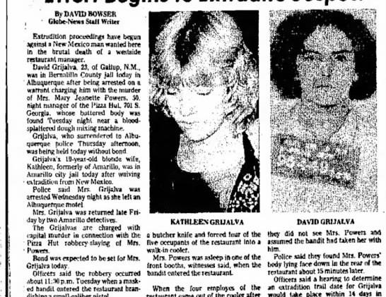 Amarillo Globe News- Suspects