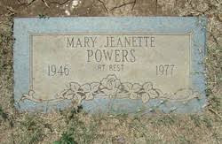 Mary Powers Grave