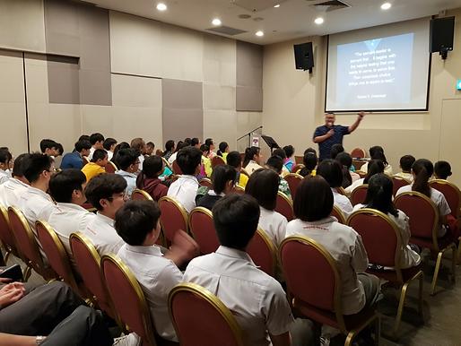 Speaking Engagement Chapel Service
