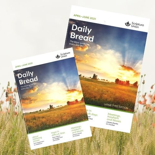 ENGLISH DAILY BREAD (LARGE PRINT) – To order, contact resources@su.org.sg