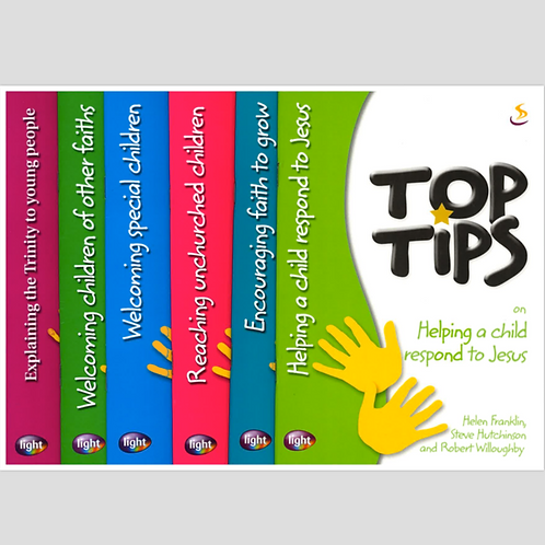 Top Tips Booklets - To order, contact resources@su.org.sg