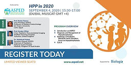 ASPED Live Webinar - HPP in 2020