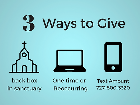 3 eas ways to give