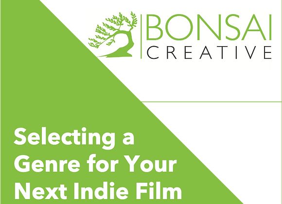 Selecting a Genre for Your Next Indie Film