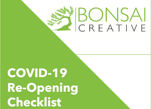 COVID-19 Re-Opening Checklist