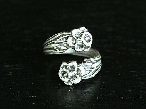 1960's Filagree-Flower two prong.