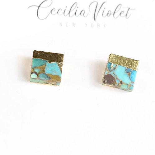 Turquoise 24 k gold (pt)