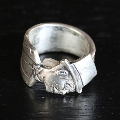 Charlie McCarthy original spoon ring 1964