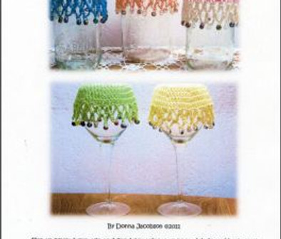 Crochet Beaded Covers and Doilies Pattern
