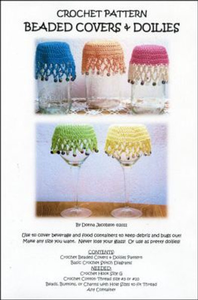 Crochet Beaded Covers & Doilies Pattern