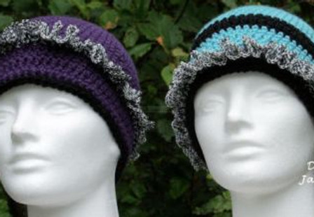 Ruffle Hats