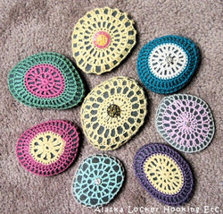 Crocheted Alaskan Rocks