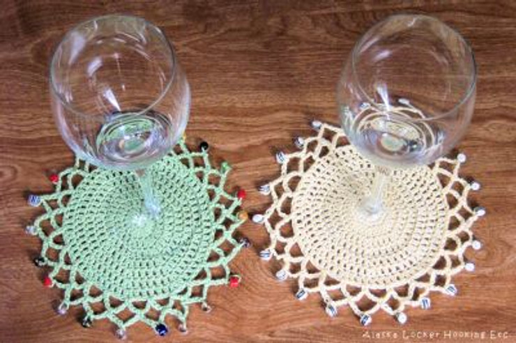 Glass Doilies By Donna