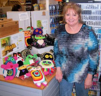 Alaskan Stuffies at Blaines Art Supply