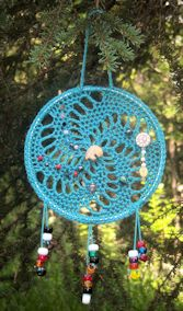 Crocheted Dream Catcher