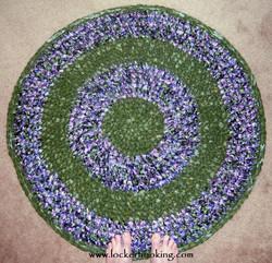 Crochet Round Rag Rug