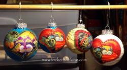 Glazed Hanging Balls
