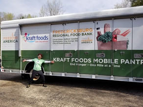 JESS KURTI RECOGNIZED AS FIRST-EVER VOLUNTEER TO VISIT EVERY FEEDING AMERICA FOOD BANK