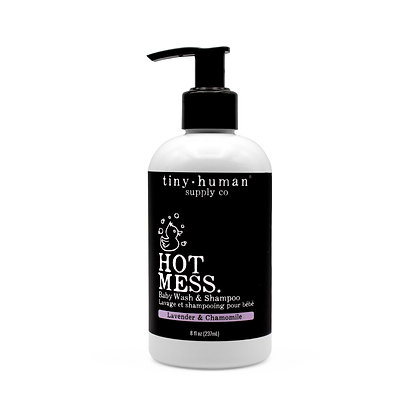 Hot Mess Baby Wash & Shampoo 8oz Lavender & Chamomile
