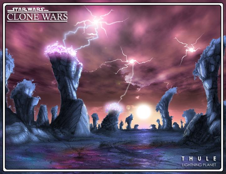 Thule lightning planet