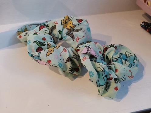 Garden bunny scrunchie