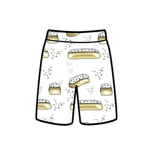 Iced buns shorts