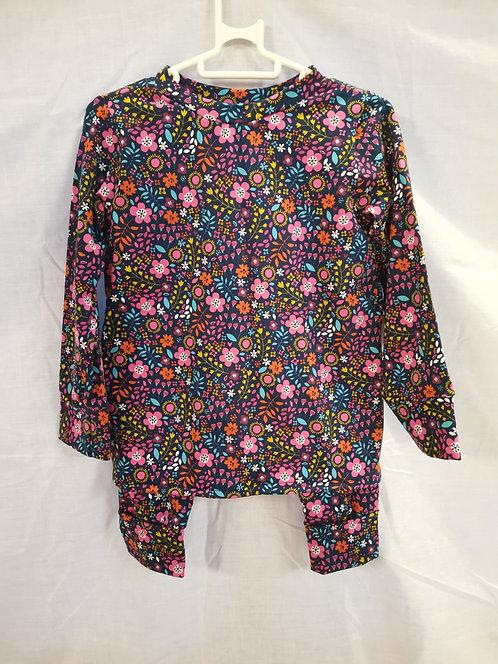 Flowery Pyjamas Set