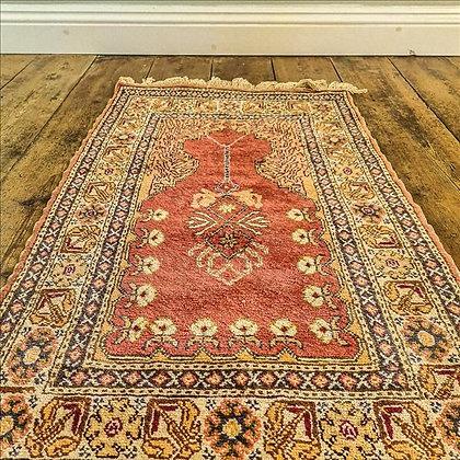 Small Turkish style rug