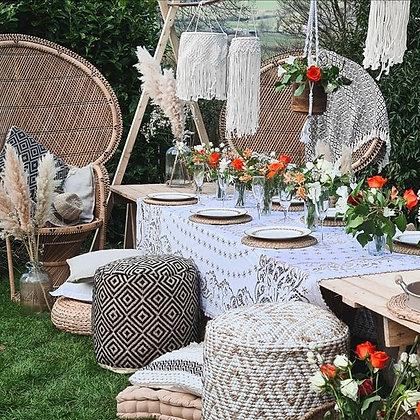 The delux boho picnic