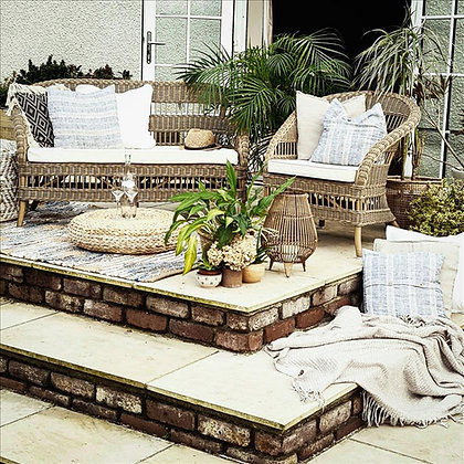 A tranquil terrace