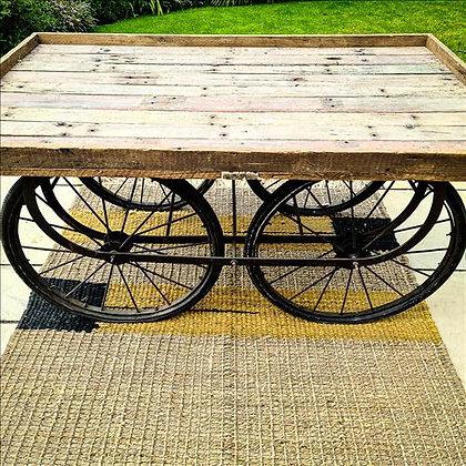 Reclaimed Indian cart