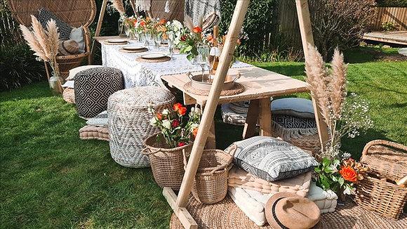 The standard boho picnic