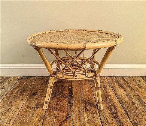Noss Mayo bamboo table