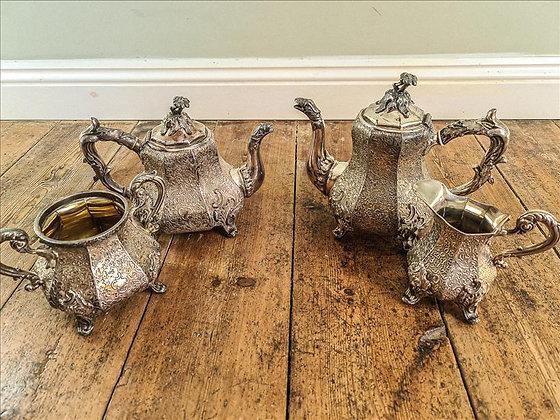 A wedding tea set