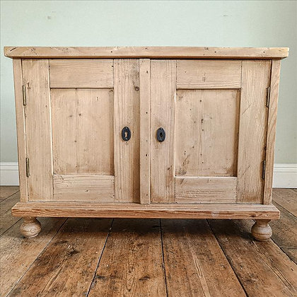 Wooden rustic chest