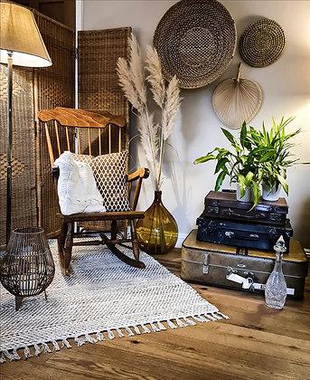 The vintage living room