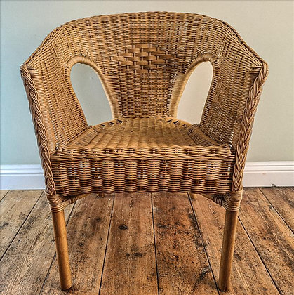 Plymouth wicker chair