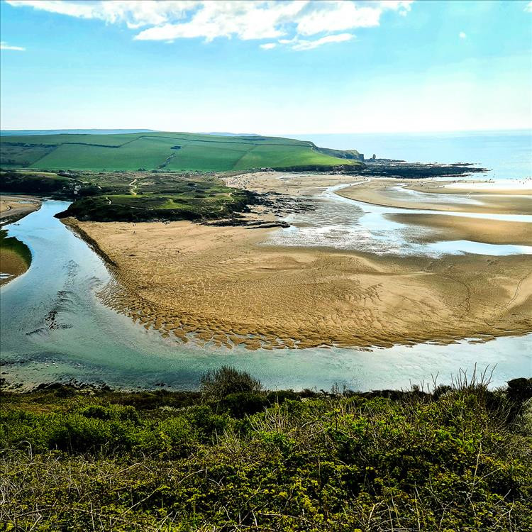 This beautiful estuary is a stunning spot