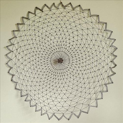 Wire wall art