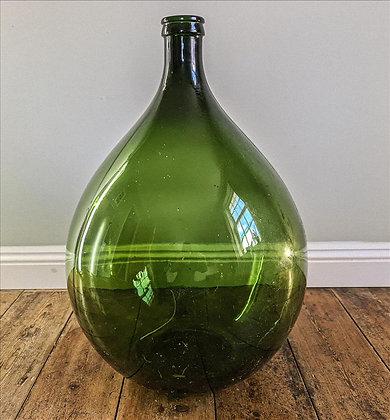 Extra large green bottle