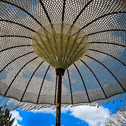 Macrame parasol