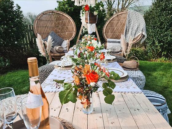 The premium boho picnic