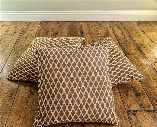 Light brown cushion