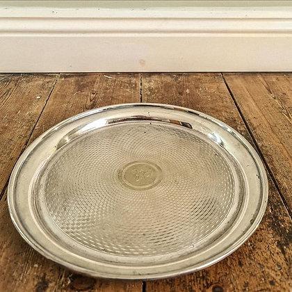 Medium silver plated tray